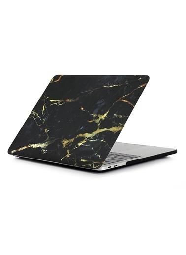 """Mcstorey MacBook Pro A1278 13"""" 13.3"""" Kılıf Sert Shell Kapak Koruma Hard Incase Mermer Vizon"""
